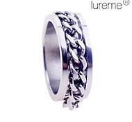 Lureme®Men's Chain Stainless Steel Ring