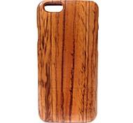 Kyuet Wooden Case Artist Made Zebra Wood Shell Cover Skin Cell Phone Case for iPhone 6