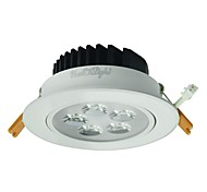 youoklight® 5w 5xleds epistar 450lm cálido blanco fresco de la lámpara de techo de plata / (AC 100 ~ 240V)
