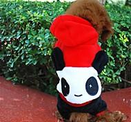 schöne Sterne Augen Panda Fleece Kleidung für Hund (verschiedene Größen)