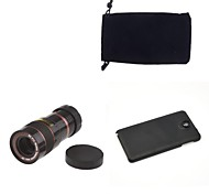 Apexel Optical 8X Zoom Telescope Lens Manual Focus with Back Case for Samsung Galaxy Note 3 N9000