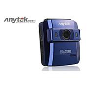 anytek® dvr del coche de HD1080P 2.4 pulgadas con vista gran angular de 148 grados