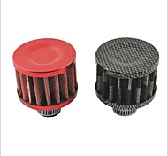 cogumelo forma universal filtro de ar de admissão para carro / moto