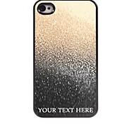 personalizzato phone caso - goccia di cassa del metallo di disegno acqua per iPhone 4 / 4S