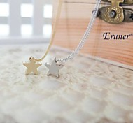 Eruner® Fashion Little Star Shape Tiny Pendant Necklace