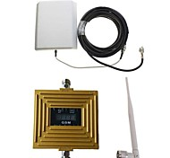 LCD Display GSM 900Mhz Intelligence Mobile Phone Signal Repeater with Panel Antenna Kit