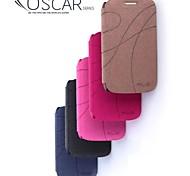 promotion quatre yu étuis en cuir série de téléphone pour duos de style galaxie i8262d (couleurs assorties)