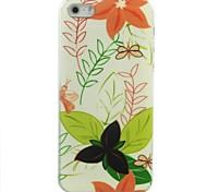 ручная роспись цветы шаблон жесткий футляр для iPhone 5/5 секунд