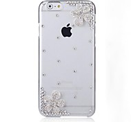 elegante decorado con diamantes para el iphone 6