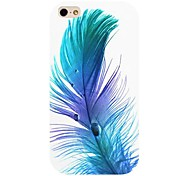 Feather Pattern Back Case for iPhone 4/4S