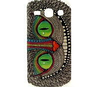 Green Eyes Owl Pattern Design Durable TPU Cover Case for Samsung Galaxy Star 2 Plus
