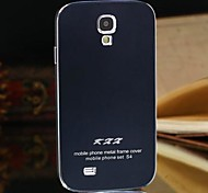 Two-in-one KX Brand Metal Frame Full Metal Backboard Metal Hard Case for Samsung Galaxy S4(Assorted Colors)