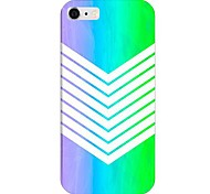 Gradual Change Color Navy Pattern Back Case for iPhone 6
