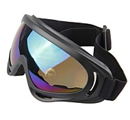 100% UV400 Ajustable Rubber Wrap Fashion Sports Goggles