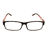 [Free Lenses] Plastic Rectangle Full-Rim Classic Reading Eyeglasses