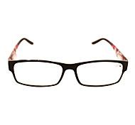 [Free Lenses] Plastic Rectangle Full-Rim Classic Reading Eyeglasses