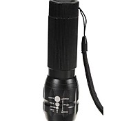 LED Flashlights/Torch / Handheld Flashlights/Torch LED 3 Mode 300 Lumens Adjustable Focus / Waterproof / Impact Resistant / Nonslip grip