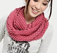 женская мода кукуруза вязальные теплые шарфы