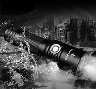 LED Flashlights/Torch / Handheld Flashlights/Torch LED 5 Mode 860 Lumens Adjustable Focus / Waterproof / Rechargeable / Impact Resistant