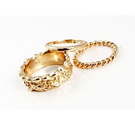Fashion Rings (One Pack Include 3 pieces) Random Color