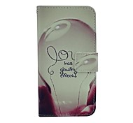 Bulb PU Leather Case for iPhone 6
