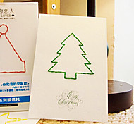 Letter of lovers Christmas Card
