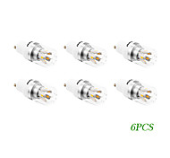 6 pcs GU10 4 W 10 SMD 5730 280 LM Warm White LED Filament Bulbs AC 85-265 V