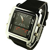 Men's Watch Sports LED Analog-Digital Display Multi-Function