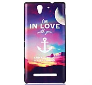 Anchor Pattern PC Hard Case for Sony C3
