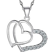 925 Sterling Silver Mutual Affinity Pendant