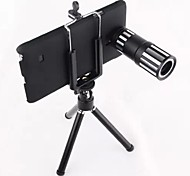 12x Zoom Aluminum Telephoto Telescope Camera Phone Lens for Samsung Galaxy Note 4