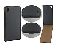 Protective PU Leather Magnetic Vertical Flip Case Cover Shell Protector for Sony Xperia Z3