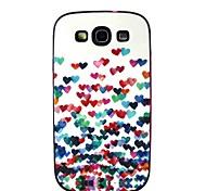 aimer modèle arrière de couverture de cas pour les Samsung Galaxy S i9300