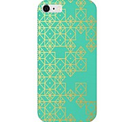 Gold Diomand Pattern Back Case for iPhone 6