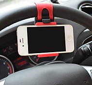 volant de voiture de montage bande de caoutchouc de support pour iPhone / iPod et d'autres