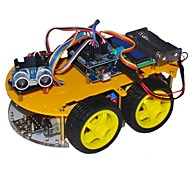 "Bluetooth Controlled Robot Car Kits for Arduino (With 2.6"" 1602 LCD Display)"