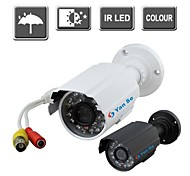 YanSe® IR Color CCTV Camera Waterproof Vision Security Outdoor Cameras 24-LED 1000TVL 6624CF
