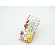 Butterfly and Flower Pattern Painted Holster for iPhone 6(Assorted Colors)
