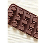 15 Hole Apple Shape Cake Mold Ice Jelly Chocolate Mold