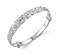 Women's Fashion Star Silver Plated Bracelet