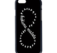 """Doopootoo™ Fashion Infinity Painted Pattern Slim Plastic Back Hard Case Cover For iPhone 6 4.7"""""""