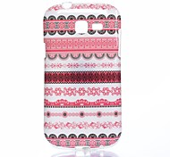 Pink Folk Style Pattern TPU Soft Case for Samsung Galaxy Trend Lite S7390/S7392