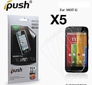 alta transparencia hd Protector de pantalla para Motorola MOTO g (5 piezas)