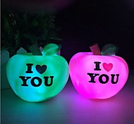 Apple Colorful  Night Light Sweet LOVE Light LED Nigth Light(Random Color)