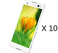 (10 pcs)High Definition Screen Protector for Sony Xperia C3