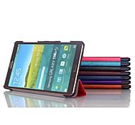 8,4 Zoll dreifache Faltung Qualitäts-PU-leathe Fall für Samsung Tab 8.4 s t700 (farblich sortiert)