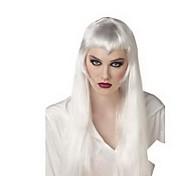 Masquerade Women's Wig Silver White Little Devil Beautiful Girl Long Hair