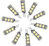 g4 1.5W 148lm bianco 13x5050 SMD ha condotto il riflettore lampadina auto 12V DC (10 pz)