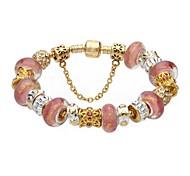 Glod Charm Bracelet for Valentine and Christmas Gift