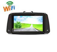 """R660 wifi + gps estilo de Corea 1080p Vídeo del coche DVR videocámara 2.7 """"h.264 g-sensor de visión nocturna wdr R660"""